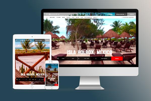 El Diseño De Un Sitio Web Para Los Hoteles Y Centros Turísticos