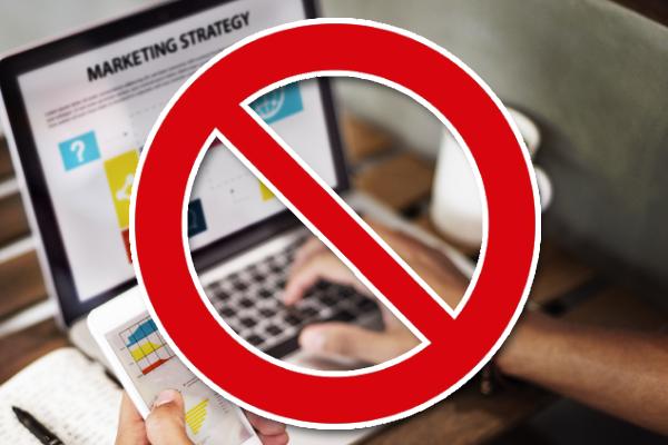 Errores que se deben evitar en toda estrategia de marketing